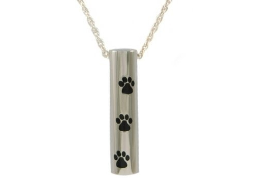 Cylinder With Paws Pendant