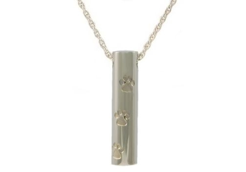 Cylinder With Press Paws Pendant