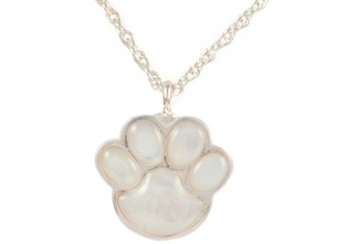 Mother of Pearl Paw Pendant