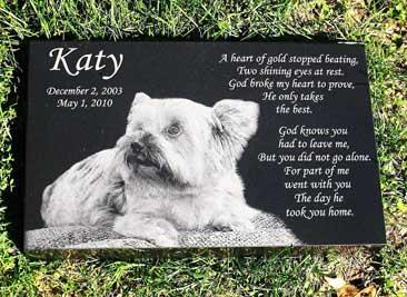 Pet Memorial Stones Pet Grave Markers Pet Headstones