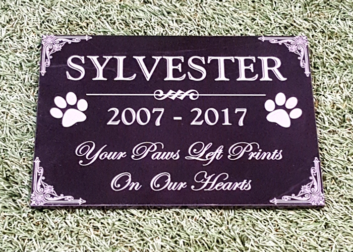 "Standard Granite Plaque 7""x10"""